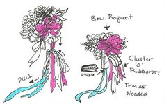 Typical Adventures: How to Make a Bow Bouquet
