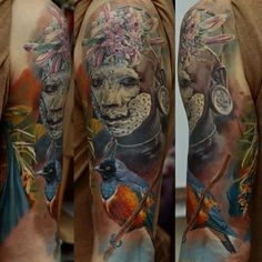 Tattoo by Dmitriy Samohin