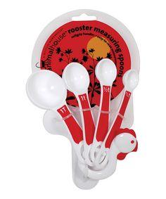 Rooster Measuring Spoon Set