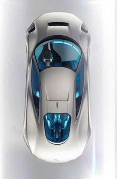 ♂ Silver car blue interior A Serious Roar for The Electric Concept Car Jaguar CX75 http://www.gizmodir.com/2010/11/roar-electric-concept-car-jaguar-cx75/