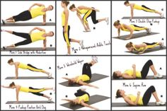 Good core workout - no equipment needed