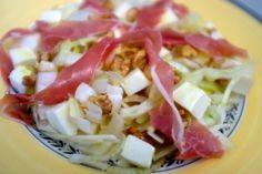 Endive Salad with Prosciutto