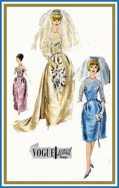 1960s Vintage Sewing Pattern Vogue Special Design by sandritocat, $50.00