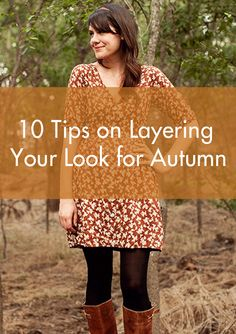 PatternReview Blog > 10 Tips on Layering your Look for Autumn