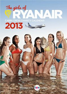 The Girls Of Ryanair 2013
