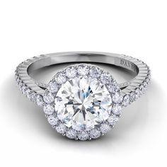 Danhov Carezza Engagement Ring