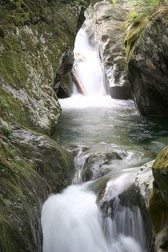 Texas Falls in Vermont