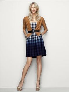 Dipped Gingham. GAP.