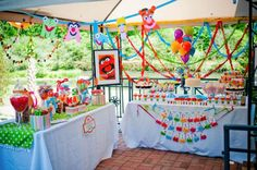 Muppet Themed 5th Birthday Party!! So many party ideas here!!