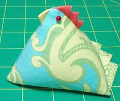 .Quiltscapes.: Chick Pincushion tutorial