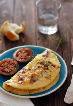Receta 488: Tortilla de jamón » 1080 Fotos de cocina
