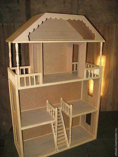 Маленькие домики из коробок