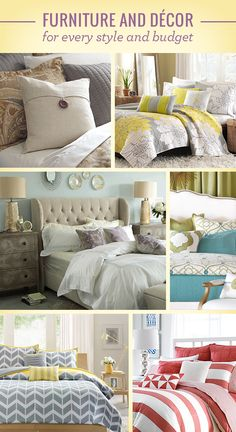 Give your bedroom a fresh look for fall! Save on beds & bedding across all styles & budgets at Wayfair.com.