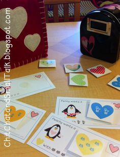 Chit Chat and Small Talk: Picky Penguin Valentine Freebie. Pinned by SOS Inc. Resources. Follow all our boards at pinterest.com/sostherapy/ for therapy resources.