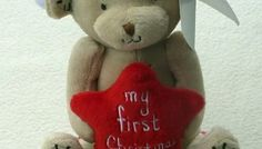 » MY 1ST CHRISTMAS TEDDY BEAR