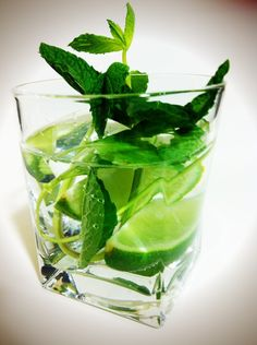 Mojito Water  Healthy and fun way to drink your water