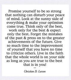 One of my favorite Sayings!