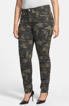 Camo Print Pants (Plus Size)
