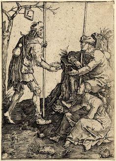 False Beggars (Lucas van Leyden)