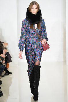 print + fur. fall 2012 ready-to-wear  Rachel Zoe #nyfw