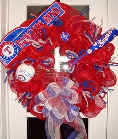 Texas Ranger Wreath