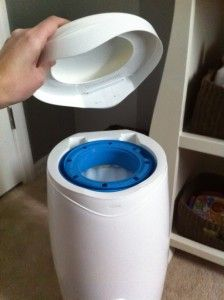 DIY trash bags for diaper genie!!! OMG! What an easy idea!!!! I spend $6 every 2 wks on refills, that's $12 per month & $144 per year! SAVE! Yes :)