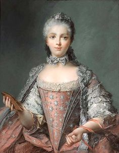 Madame Adelaide, daughter of Louis XV