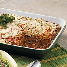 Cabbage Roll Casserole(use cauli rice instead of rice)