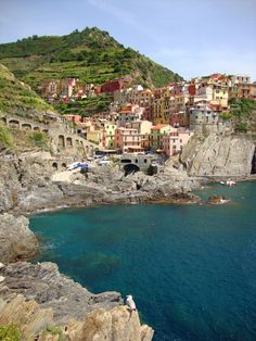 The most beautiful place in the world.  Cinque Terre, Italy.