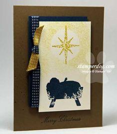 Handmade Christmas Cards - Stampin' Up! Demonstrator Ann M. Clemmer & Stamper Dog Card Ideas