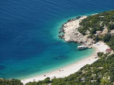 Beautiful beach of Lubenice, Cres, Croatia