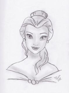 belle sketch