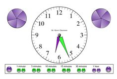 Here's a 25-slide interactive whiteboard file on telling time.