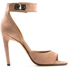 Givenchy Rosewood Suede High-Heel Sandal