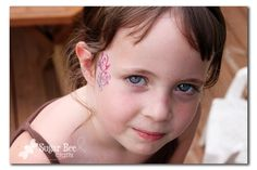 Sugar Bee Crafts: sewing, recipes, crafts, photo tips, and more!: Silhouette Promotion - - Temporary Tattoos! (face-painting style)