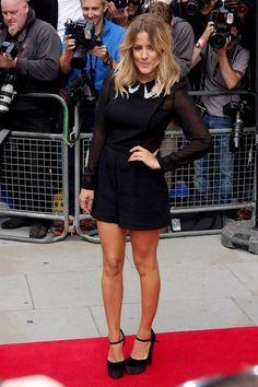 Caroline Flack looking great, we love this dress.