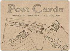freebie printable antique postcards    Love this!!