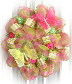 ♥Spring wreath idea