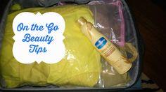 On the Go Beauty Tips for Moms #SprayandGo #ad