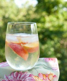 Peach Wine Spritzer