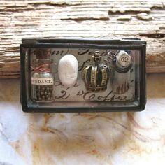More mini museum box. Etsy.