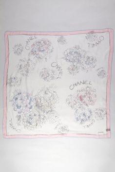 Silk Chanel scarf