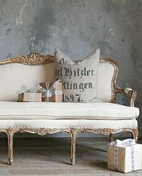 love the furnishings- French garden House site