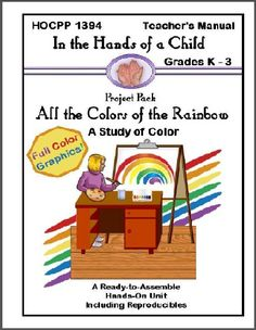 An amazing unit study on COLOR with printable lapbook pieces. Only $12. (Save 25% when you buy before May 31st and use coupon code MeetPenny.)