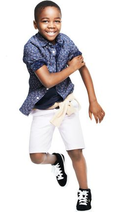 Boys floral print shirt at J Crew. Love that boys can pull off this look.