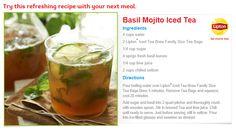 Basil Mojito Iced Te