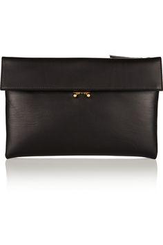 leather clutch / marni