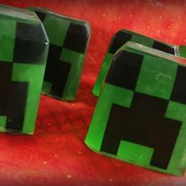 That'sssss a very nice sssssshower you've got there... It'd be a shame if something were to happen to it..    Explode the grime off your hands with a burst of Eucalyptus and Ssssspearmint.  This soap is made with a special image that will dissolve in water as you use the soap. Check out my other Minecraft Soaps!  Blocks weigh roughly 4oz each,...