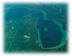 I've always thought Higgins Lake looked like Michigan from the air. #puremichigan