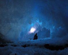 mount erebus ice caves